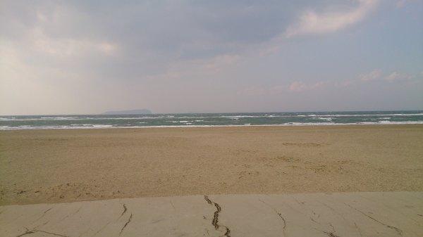 瀬戸内の海は、この日は極寒だったあ