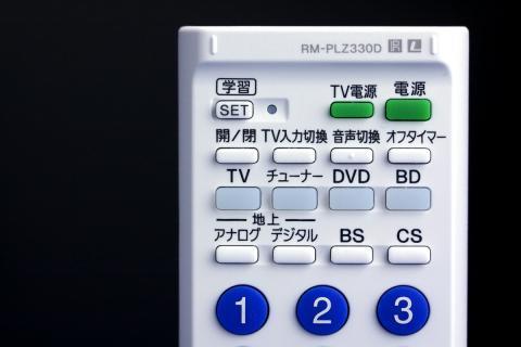 SONY 学習リモコン PLZ330D top 表