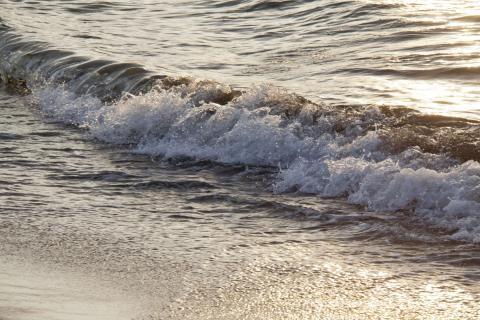 2011 砂浜 夕焼け 11