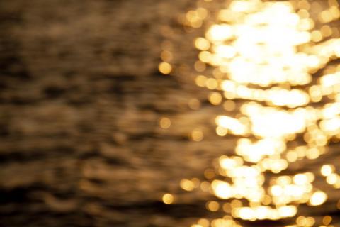 2011 砂浜 夕焼け 5