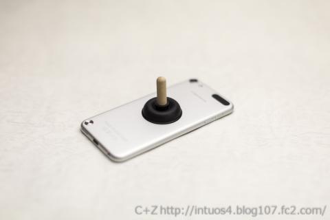 iPhoneスタンド ミニラバーカップ iPodTouch