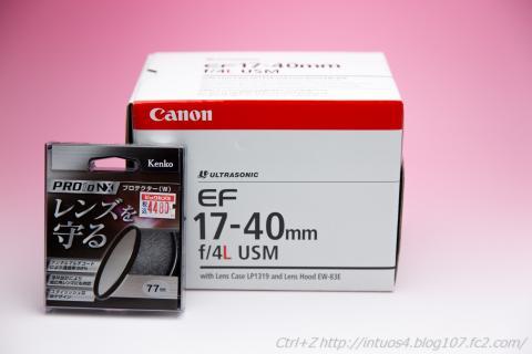 CANON EF17-40 F4L