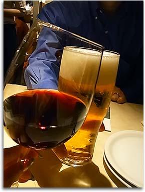 乾杯。0601