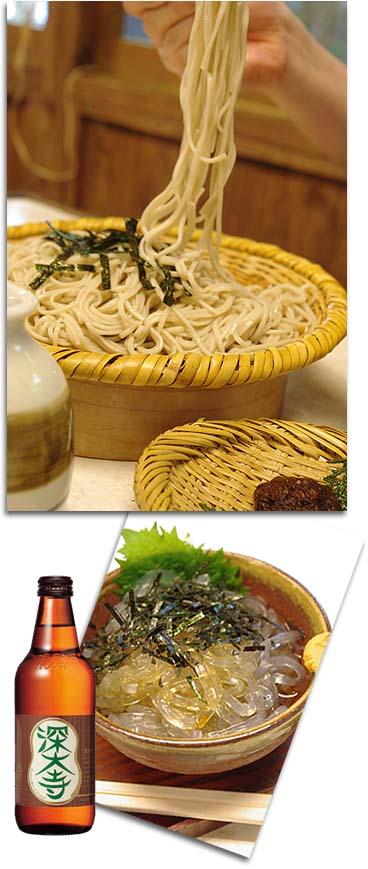 深大寺そば&ビール
