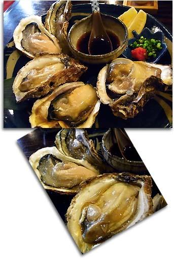 生牡蠣食べ比べ