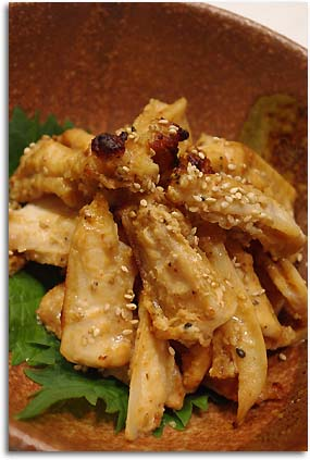 ナンコツの味噌焼き