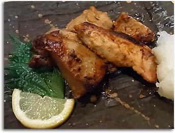焼き魚(鮨処さかい)