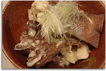 鯛の塩煮 (2)