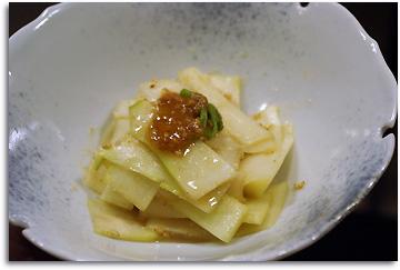 ウドの酢味噌