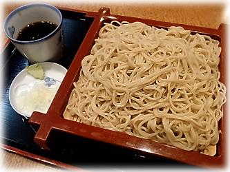 長寿庵の蕎麦