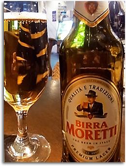 モレッティ・ビール