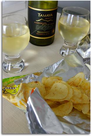 ワイン&ポテチ