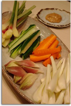 夏野菜盛り