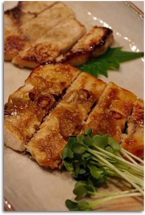 メカジキの味噌焼