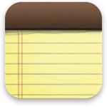 標準アプリのメモ