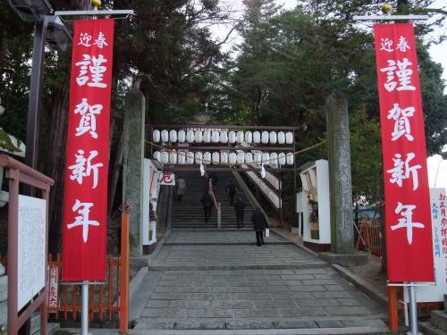 吉備津神社階段