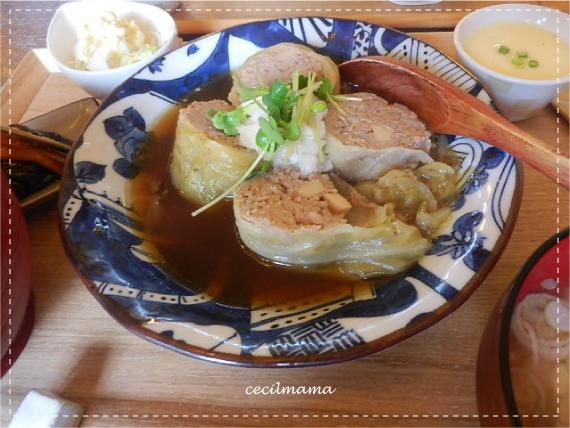 ロールキャベツ定食_1