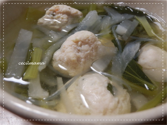 鶏団子スープ_1