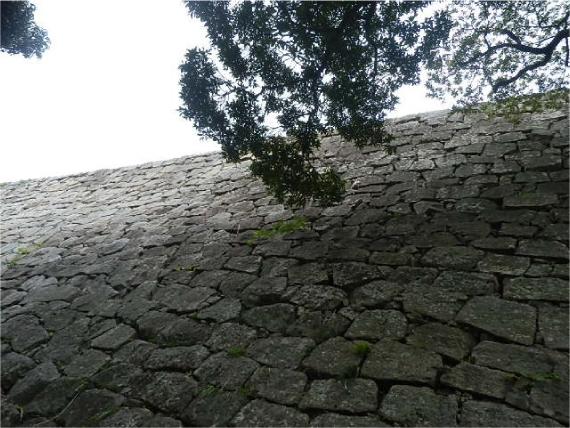 丸亀城の石垣_1