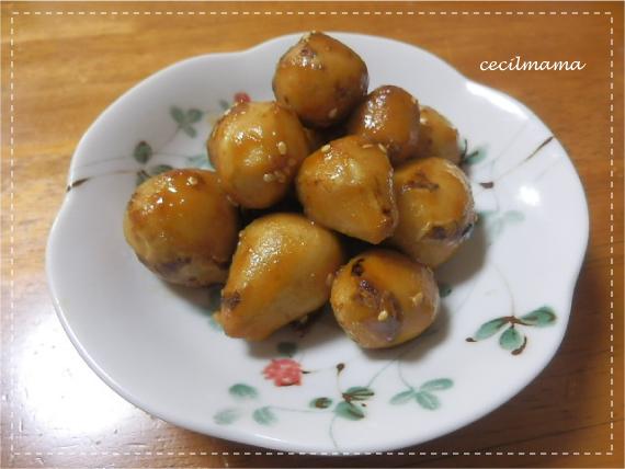 里芋の飴煮