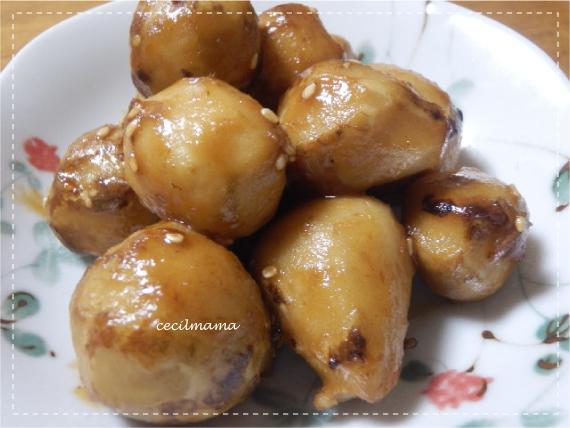 里芋の飴煮_1