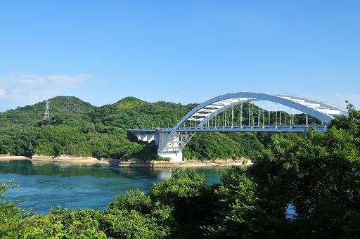 大三島橋が見えてきた