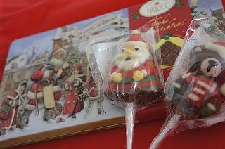 クリスマスチョコレート可愛いーー