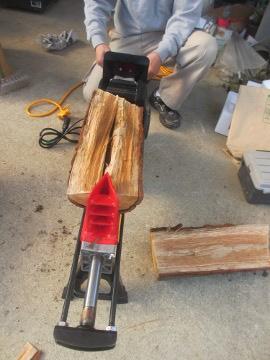 薪割り機6