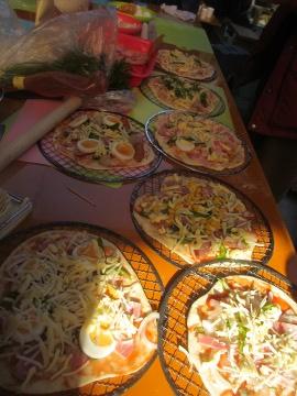 黒米ピザ2