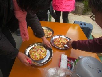 黒米ピザ4