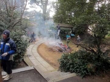 神社の大掃除の日