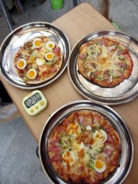 ピザ焼き納め5