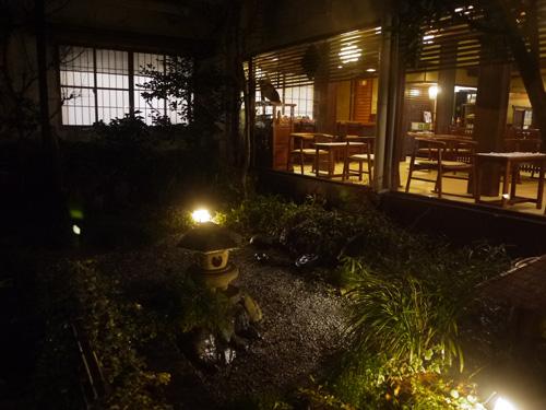 岩井屋中庭