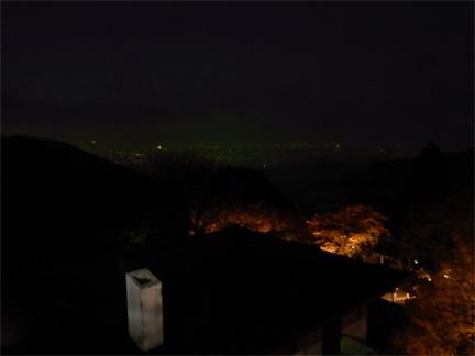 山の上よりの夜景