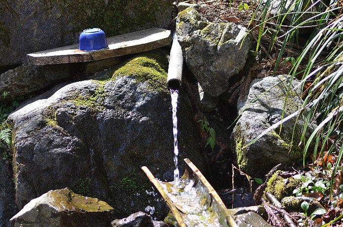 おいしい湧き水