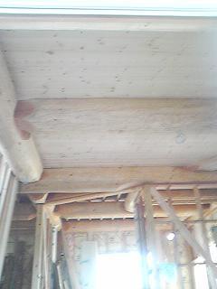 1階天井貼り2