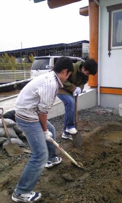 穴掘り少年隊3