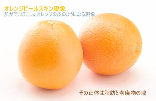 オレンジ_オレンジピールスキン現象