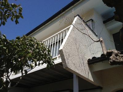 外壁塗装 アフターサービス 厚木市①