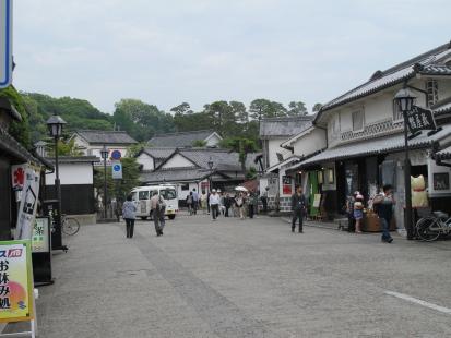 倉敷美観地区入り口付近