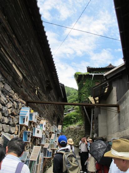 石垣(男木)