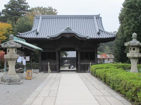 屋島寺三門