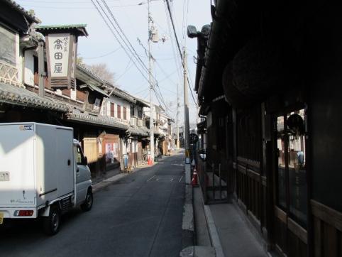阿智神社参道前通り