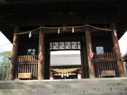 阿智神社山門及び本殿