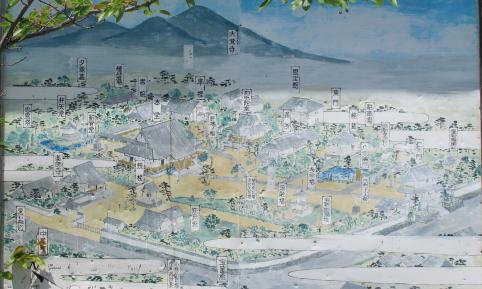 清涼寺伽藍案内図