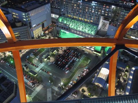 摩天楼からの眺め