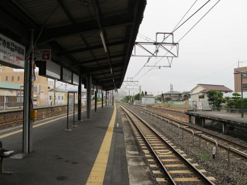 総社駅ホーム