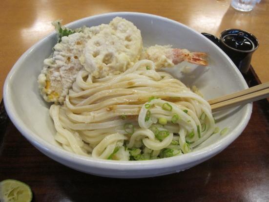 土佐醤油てんぷら(うどん)