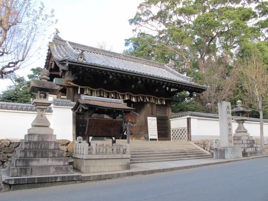 御香宮神社山門