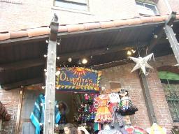 オルベラ街のお土産屋